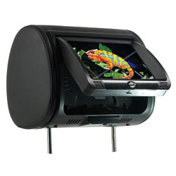 9 Headrest LCD Monitor with Built-In DVD and 3 Covers