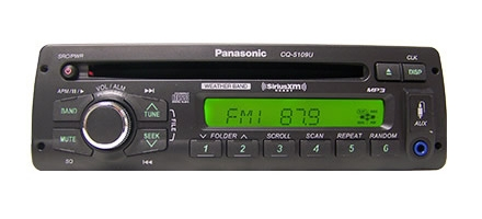 Panasonic Cq5109u Semi Truck Heavy Duty Am Fm Wma Mp3 Cd