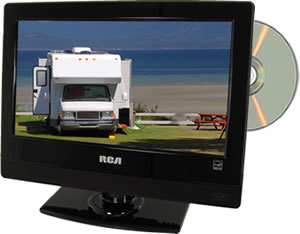 Rca Decg13dr 13 Led 12 Volt Tv Dvd Combo 12volt Travel 174