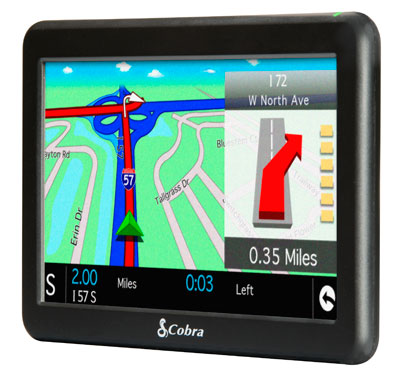 Cobra Inch Gps For Truckers