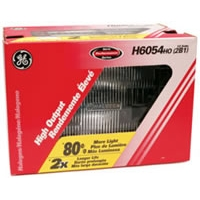 High Output Halogen High/Low Beam Headlight - 2 Lamp
