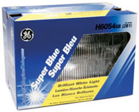 Super Blue Halogen High/Low Beam Headlight - 2 Lamp