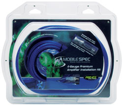 4-Gauge Pro-Ice Series High Current Amplifier Installation Kit