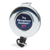 The Microphone Assistant Retractable CB Mic Holder