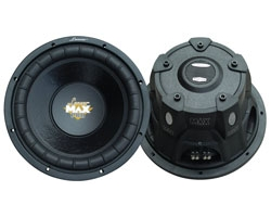 12 Max Series DVC Subwoofer Driver for Small Enclosures - 1600 Watts Each