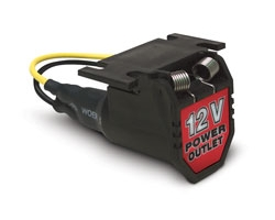 12 volt 6' extension power cord with cigarette lighter socket