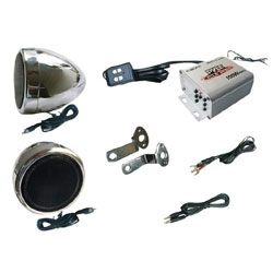 FM Radio & Speakers for Motorcycles & ATVs