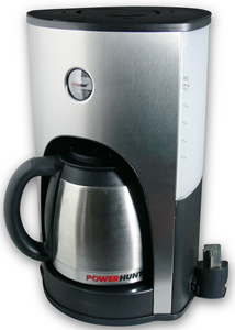Power Hunt 10 Cup 12 Volt Coffee Maker