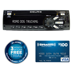 Delphi Pp105226 27 Heavy Duty Am Fm Mp3 Wma Wb Cd