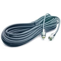 100\' RG-8X Coax Cable with PL-259 Connectors - Gray