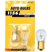 Heavy Duty Automotive Replacement Bulbs - #1156, Clear, 2-Pack