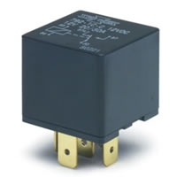 12-Volt Heavy Duty SPDT (Single Pole Double Throw) Relay