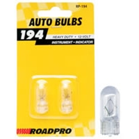Heavy Duty Automotive Replacement Bulbs - #194, Clear, 2-Pack
