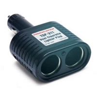 12 Volt 2 Outlet Cigarette Lighter Adapter