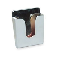 CB Microphone Holder - Chrome Plated