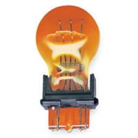 Heavy Duty Automotive Replacement Bulbs - #3057, Amber, 2-Pack