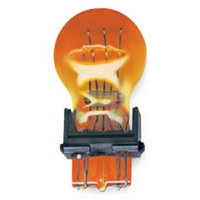 Heavy Duty Automotive Replacement Bulbs - #3157, Amber, 2-Pack