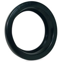 "4"" Round Rubber Grommet for Vehicle Lights"