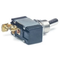 "2 Position Toggle Switch with Screw Connector - .75"" Round Toggle"