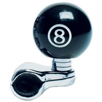 8 Ball Steering Wheel Spinner