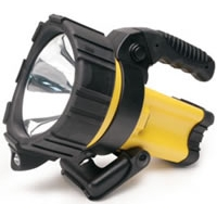 2 Million Candle Power Cordless/Rechargeable Spotlight w/Path Light - Yellow