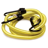 "40"" Heavy Duty Stretch Cords with Anti-Scratch Hooks - 10mm, 2-Pack"