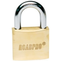 "50mm Solid Brass Padlock - 1.5"" Shackle"