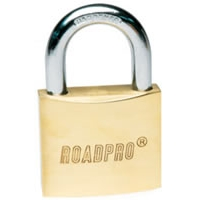 "60mm Solid Brass Padlock - 1.5"" Shackle"