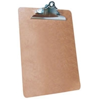 "Masonite Clipboard - 9"" x 12\"""