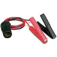 "12 Volt ""Clip-On\"" Battery Platinum Series Cigarette Lighter Adapter"