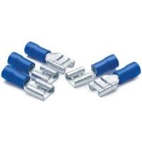16-Gauge to 14-Gauge Quick Connectors - .25 Female, 5-Pack