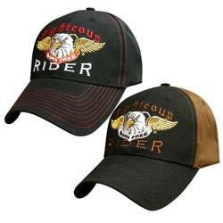Righteous Rider Design Ball Cap Hats
