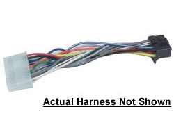 metra pp205250 semi truck stereo installation harness for type f stereos 12volt travel 174