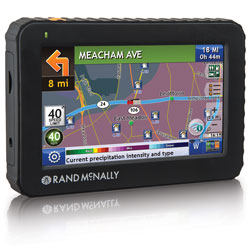 Truck Drivers GPS w/ 5 Display & Lifetime Maps Rand McNally TND525
