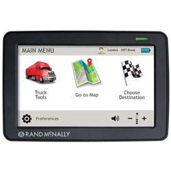 Rand McNally TND530LM 5-inch Truck GPS with Lifetime Maps