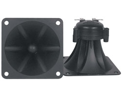 3.75 Square Super Horn Tweeters - 150W / 75W RMS