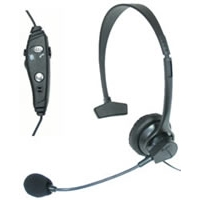 Professional Over-the-Head Hands Free Boom Mic - Universal 2.5mm