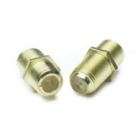 Coaxial Feed-Thru In-Line Connectors - 2 Pack