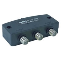 2-Way Deluxe Cable Switch