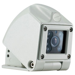 1/3 Color CCD Weatherproof Back-Up Camera with Microphone