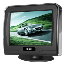 "3.5"" LCD TFT Digital Rear-View Monitor"