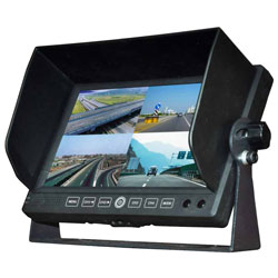 "7"" Quad Split Screen Back-Up Monitor"