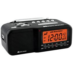 midland wr11m alarm clock weather alert radio 12volt travel. Black Bedroom Furniture Sets. Home Design Ideas