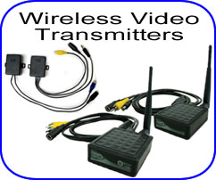 wireless video transmitters for back up cameras