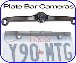 license plate back up cameras