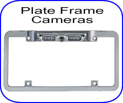 license plate bar style back up cameras