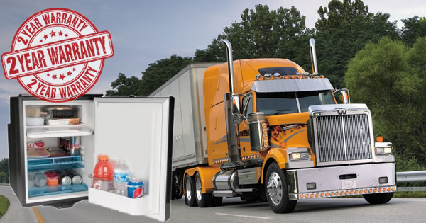Refrigerator Freezers for Semi-Trucks - 12Volt-Travel