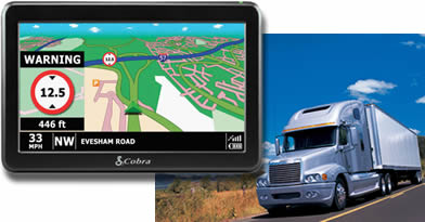 GPS Navigation for Semi-Trucks