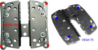 Barkan MODEL33 & 34 Hole Patterns