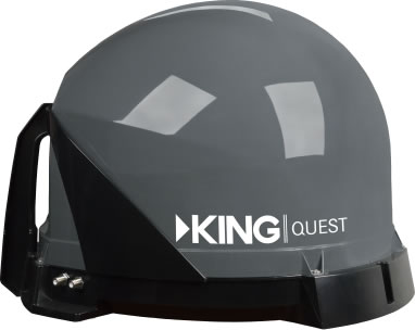 King Vq4100 Quest Portable Satellite Tv Antenna For